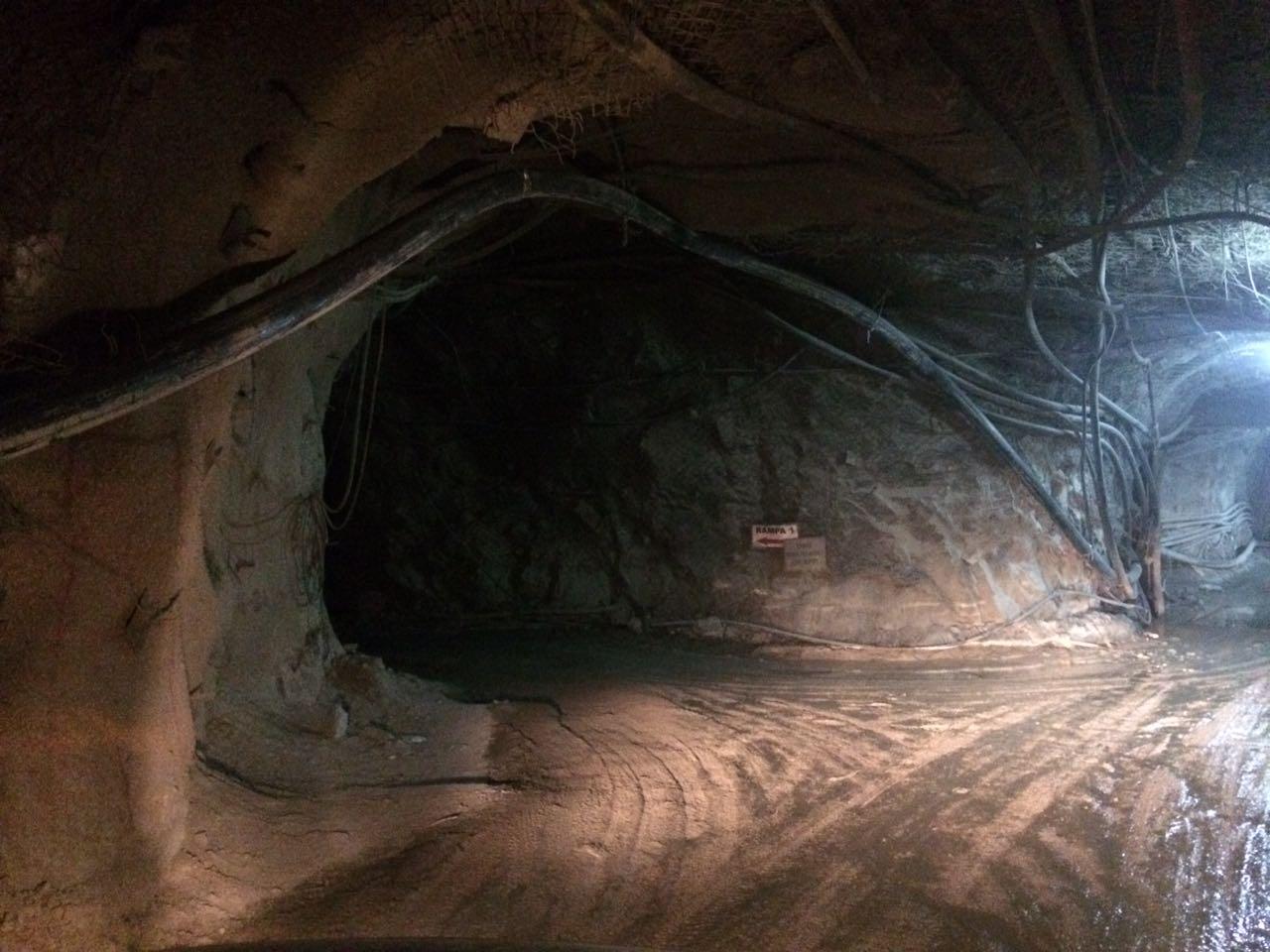 Pexgol Pipe Installed Underground Mine