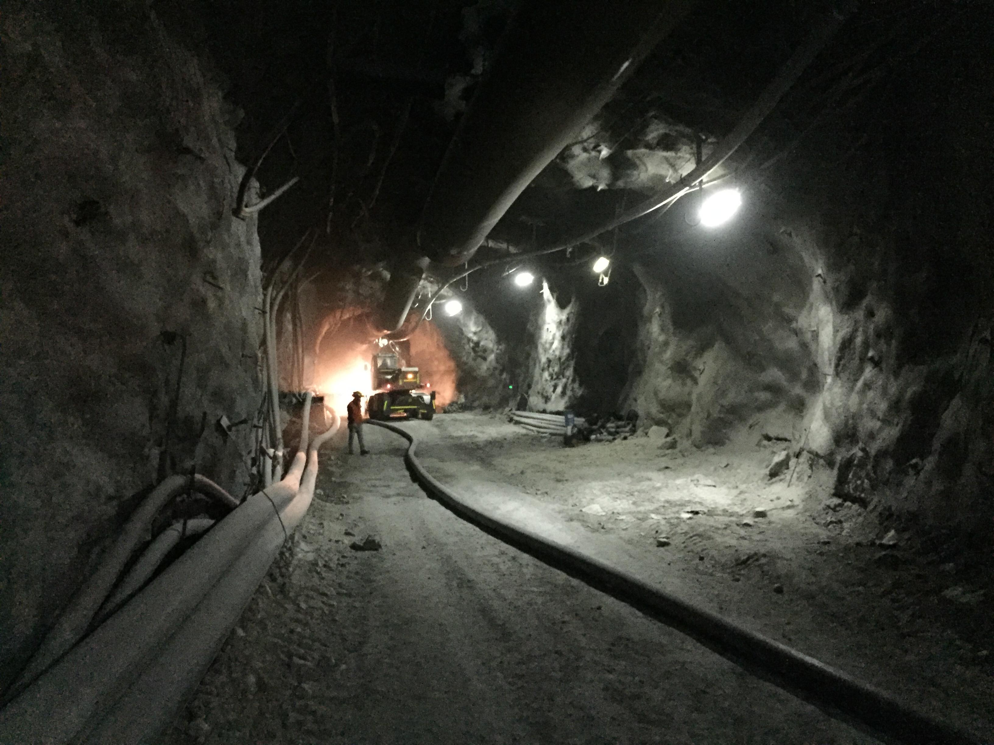 Pexgol Underground Mine Installation